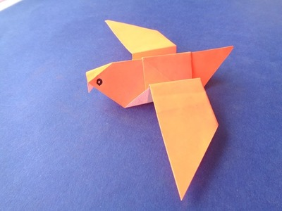 How to make paper craft art - dove
