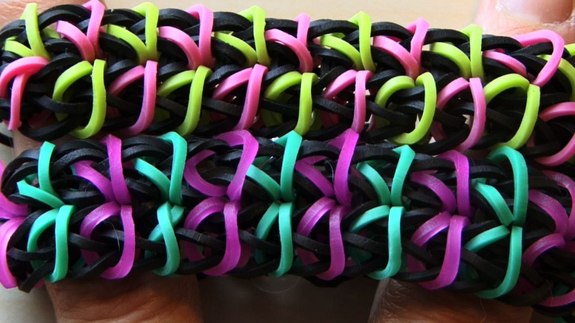 HOW TO MAKE RAINBOW LOOM ZIPPY CHAIN BRACELET