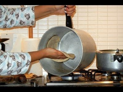 How to prepare or make tandoori roti at home