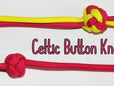 How to Tie the Celtic Button Knot {Single & 2+ Strands}