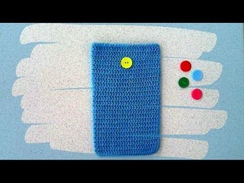 Łatwe etui na szydełku na tablet. Easy holder crochet on the Tablet Cases #1