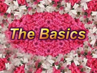 Learn to Crochet  Lesson 1 - The Basics - LEFT HANDED