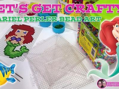 Let's Get Crafty - Ariel Perler Bead Figure
