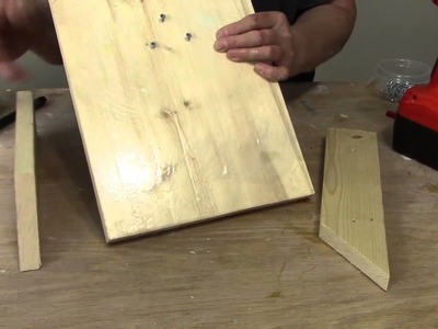 Make a Wooden Sculpting Easel for Masks