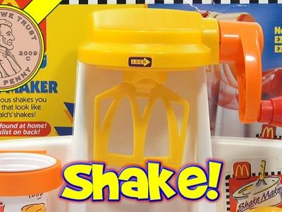 McDonald's Happy Meal Magic Shake Maker Set, 1993 Mattel Toys (Fun Recipes)