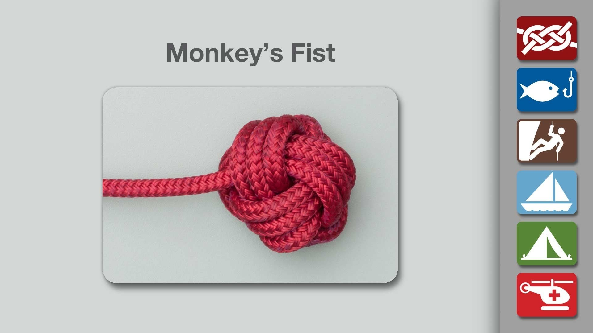 Monkey's Fist | How to Tie a Monkey's Fist
