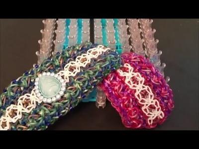 NEW! Thutmose Bracelet on the Rainbow Loom 3 Looms
