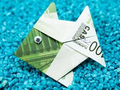 Origami Money Fish Folding