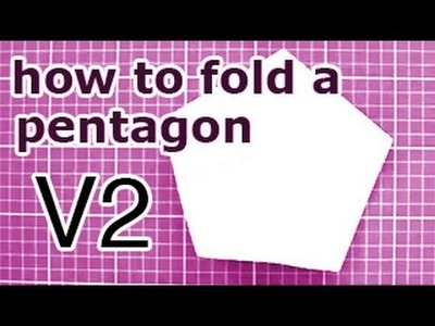 Origami Pentagon from a Square