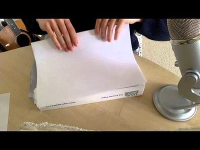 Paper Aeroplanes, Paper Folding and Soft Speaking ASMR