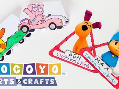 Pocoyo Arts & Crafts: DIY projects with Pocoyo! [Ep 1]