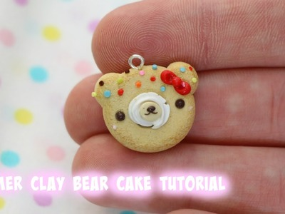 Polymer Clay Bear Cake Tutorial