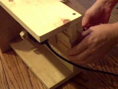 Pt 4 of 4 How to Build a Router Table for Your Dremel Tool