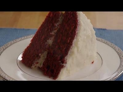 Red Velvet Cake Recipe - How to Make Red Velvet Cake