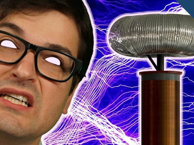 Shocked by 1 MILLION Volts of Electricity at Maker Faire