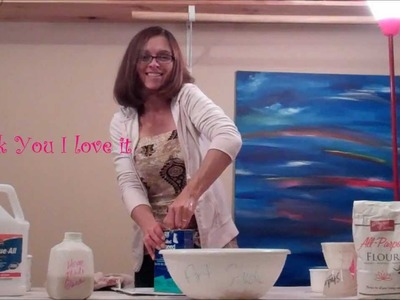 Slurry the TP for Your Homemade Clay