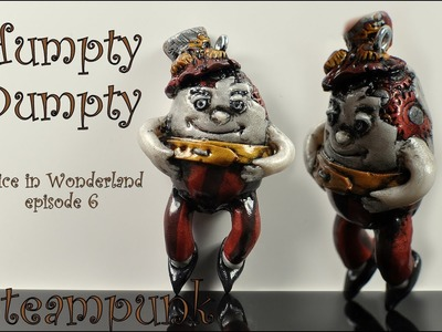 Steampunk-ish Alice In Wonderland: Humpty Dumpty [TUTORIAL]