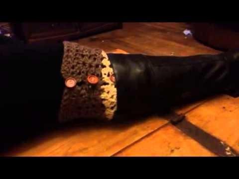 Tinacrochetstudio Crochet Boot Leg Warmers