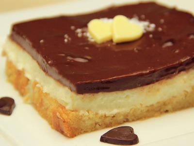 Turkish Pudding Toasted Bread Cake Recipe