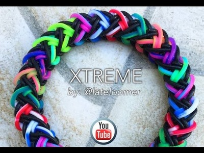 XTREME Hook Only bracelet tutorial