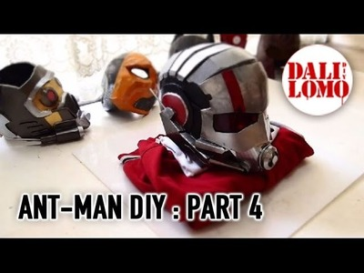 #102: Ant-man Helmet DIY 4 - End (free template 3)