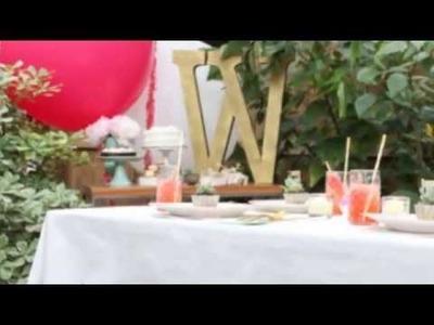 15 Pretty DIY Glam Tablecloths