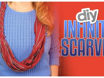 3 Ways To Make DIY Infinity Scarves - Do It, Gurl