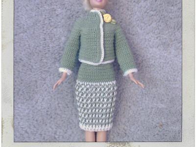 Barbie's - Single Crochet Jacket