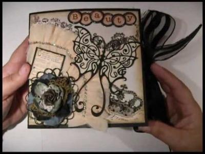 Beauty Mini Album Flip Book