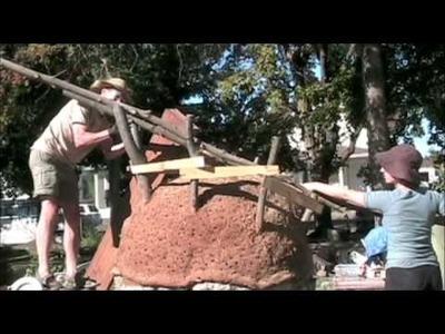 Building a Cob Oven at Riverfront Farm in Spokane, WA