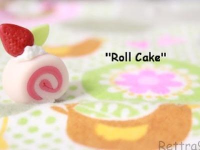 Cold Porcelain Tutorial: Roll Cake