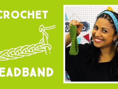 Crochet Headband: Easy Craft Tutorial with Vanessa of Crafty Gemini Creates