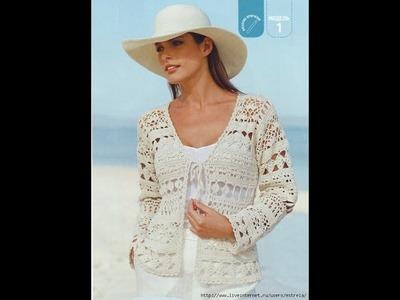 Crochet shrug| how to crochet vest shrug free pattern tutorial for beginners 32
