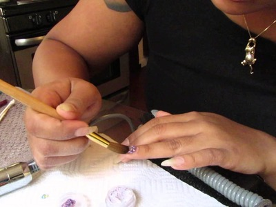 DIY: Acrylic Nail tutorial (fill-in) #FAIL