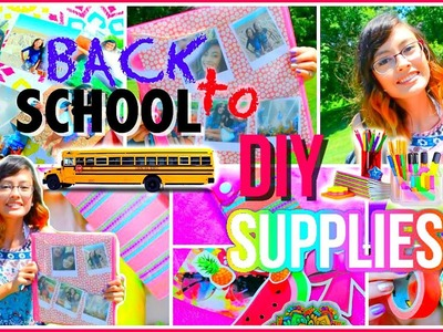 DIY Back To School Supplies | Mish Shelly