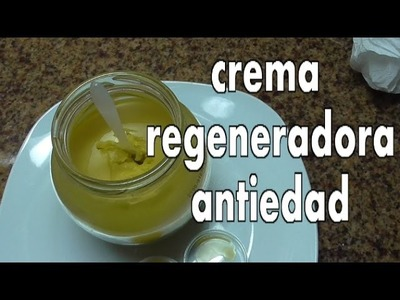 DIY CREMA REGENERADORA ANTIEDAD, REGENERATING AGE DEFENSE CREAM (ingredientes at the description)