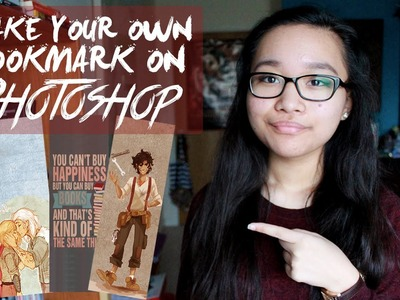 DIY: HOW TO MAKE A BOOKMARK ON PHOTOSHOP