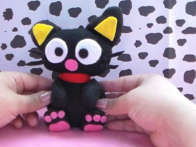 "DIY! KAWAII"" CHOCO CAT PELUCHE. HOW TO MAKE CHOCOCAT PLUSH"