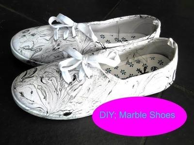 DIY; Marble Shoes   (bekijk in HD)