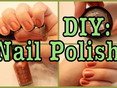 DIY: Nail Polish!