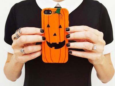 DIY Pumpkin Halloween Phone Case