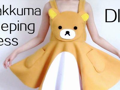 DIY Rilakkuma Dress.Sleeping Dress