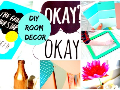 DIY ROOM DECOR: ORGANIZATION & THE FAULT IN OUR STARS!