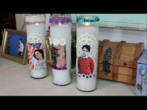 DIY: Shrine Candles