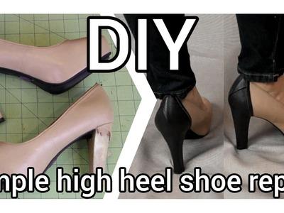 DIY Simple High Heel Shoe Repair
