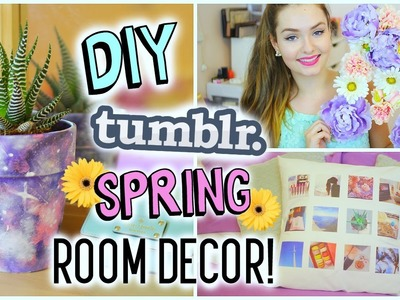 DIY Tumblr Spring Room Decor | Cheap & Easy!