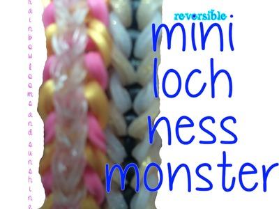 *EASY*Mini Loch Ness Monster Rainbow Loom Bracelet Tutorial