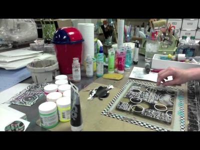 Gelli Tape Goes All The Way! -- Part 1 - Patti Tolley Parrish - Inky Obsessions