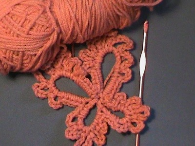 "How to Crochet a ""Butterfly"""