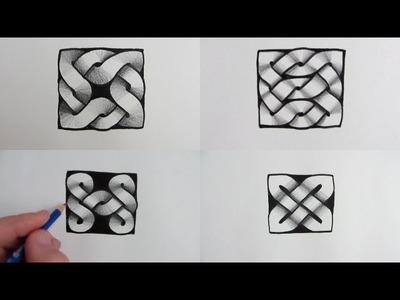 How to Draw 4 More Celtic Knot Designs